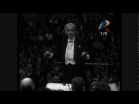 George Enescu - Rapsodia Romana Nr. 1 (completa) dirijor Sergiu Celibidache