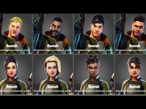 How To Change Fortnite Default Skin  ( Fortnite  Chapter 2 )