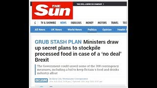James O'Brien vs The Sun's Brexit food stockpiling hypocrisy thumbnail