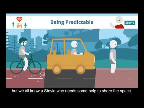 Share the Space: Be Predictable