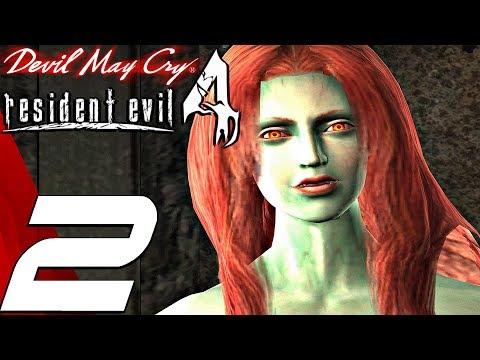 Resident Evil 4 - Dante Gameplay Walkthrough Part 2 - Beowulf Boss & Nevan (Devil May Cry Mod) thumbnail