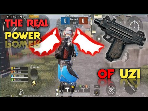 THE REAL POWER 🔥🔥OF UZI (PUBG MOBILE)