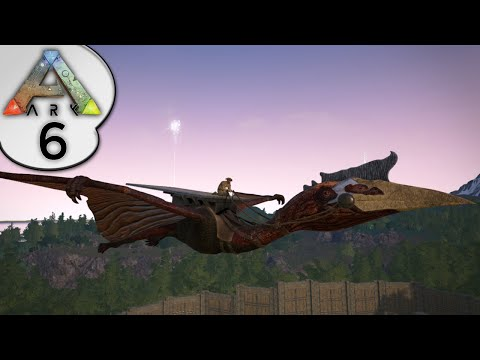ARK: Survival Evolved - QUETZALCOATLUS / QUETZAL TAMING - S2E6 - Let's Play Gameplay