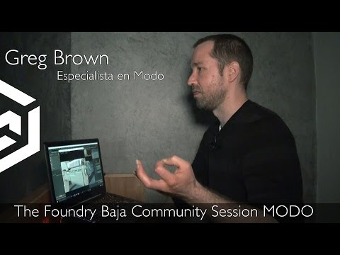 The Foundry Baja Community Session MODO
