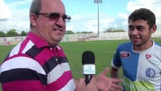 Jogador Marcos Adriano fala da expectativa da estreia do Esporte na 2ª