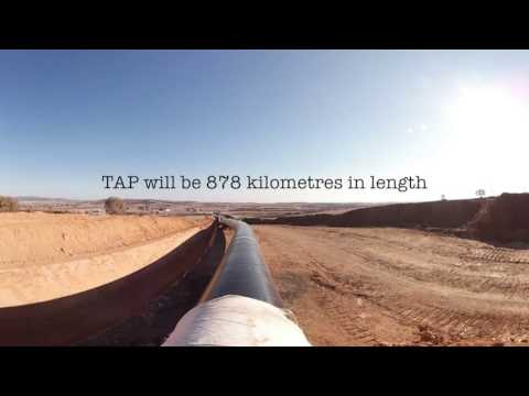 Trans Adriatic Pipeline construction site in Greece In 360 Degree Panoramas