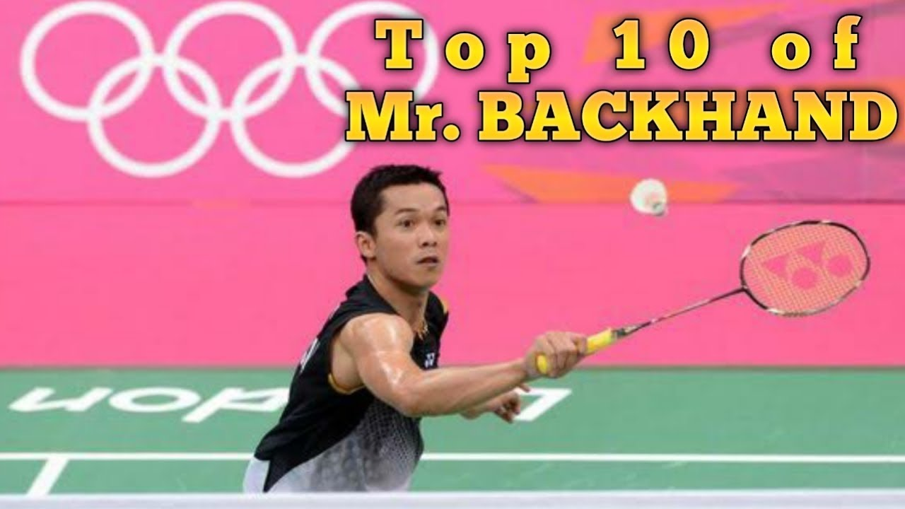 Taufik Hidayat Mr. Backhand!! - Top 10 Backhand of Taufik ...