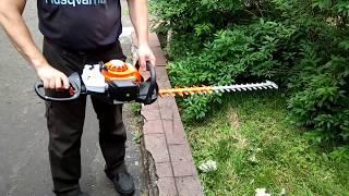 видео Бензоножницы STIHL HS 45 (60 см)