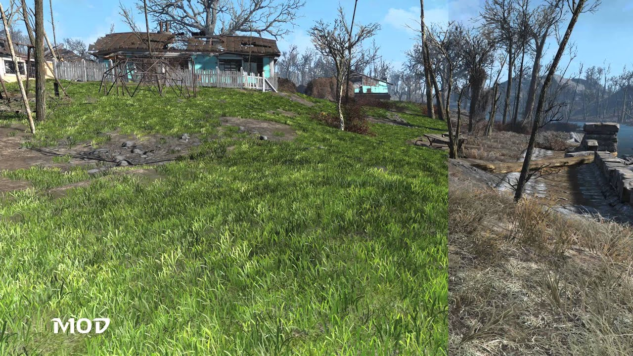 New Landscape Grass at Fallout 4 Nexus - Mods and community