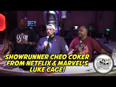 runner Cheo Coker from Netflix & Marvel's Luke Cage!