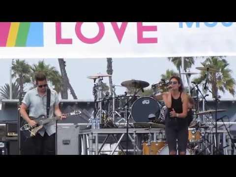 ENTERLINE - Resurrection and Life - at Labour of Love Music Fest Bolsa Chica Beach Sep. 02, 2017