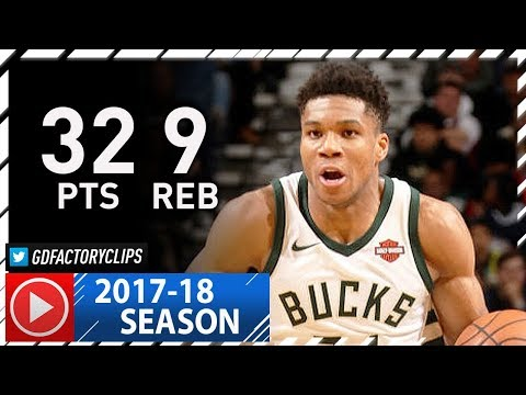 Giannis Antetokounmpo Full Highlights vs Pelicans (2017.12.13) - 32 Pts, 9 Reb