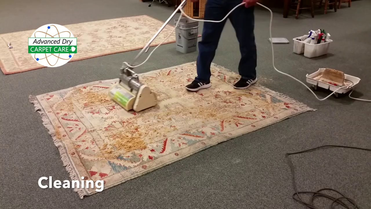 How Can We Clean An Area Rug Without Water