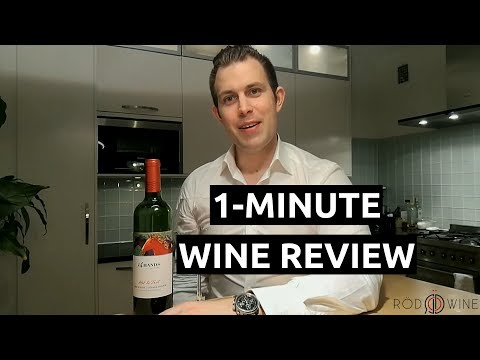 1- Minute Wine Review - 14 Hands Winery  Hot To Trot  Red Blend  2013