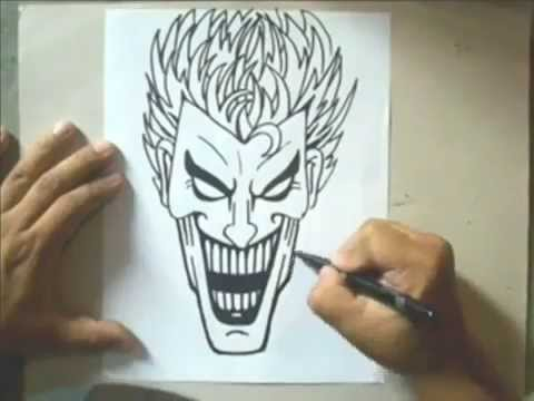 dessin joker facile