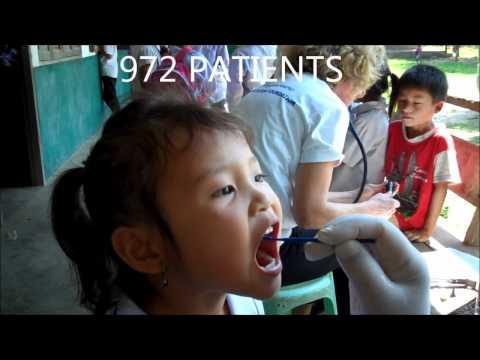 Health Care in Remote Area, Laos October 2011