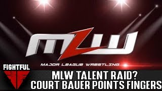 Court Bauer Says A Rival Promotion Attempted To Raid MLW | Fightful Wrestling