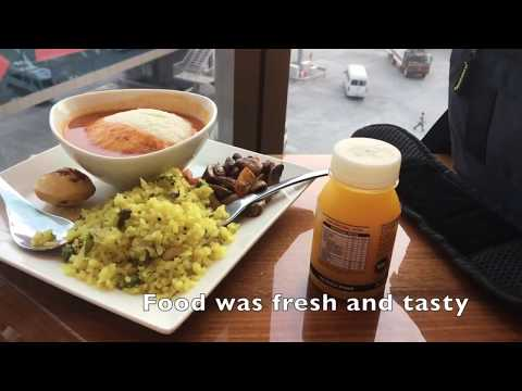 9W 250 Jet Airways Mumbai to Kathmandu Business Class
