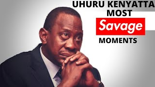 UHURU KENYATTA'S MOST SAVAGE MOMENTS (best angry and funny moments)