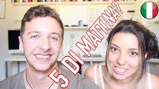 Svegliarsi Alle 5 di Mattina!?   Imparare l'italiano - Learn Italian