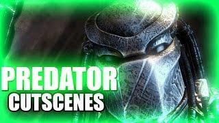 PREDATOR Cutscenes - Aliens vs Predator AVP 2010 PC XBox360 Playstation 3 PS3 Cinematics