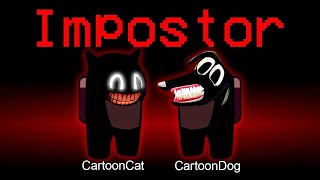 Among Us but Cartoon Cat vs Cartoon Dog is an Impostor