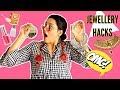JEWELLERY HACKS EVERY GIRL SHOULD KNOW | Cleaning Jewellery,Storage,Tips&Tricks