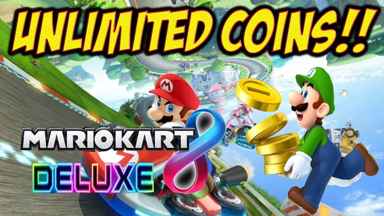 Mario Kart 8 Deluxe Unlimited Coins Unendlich Münzen German