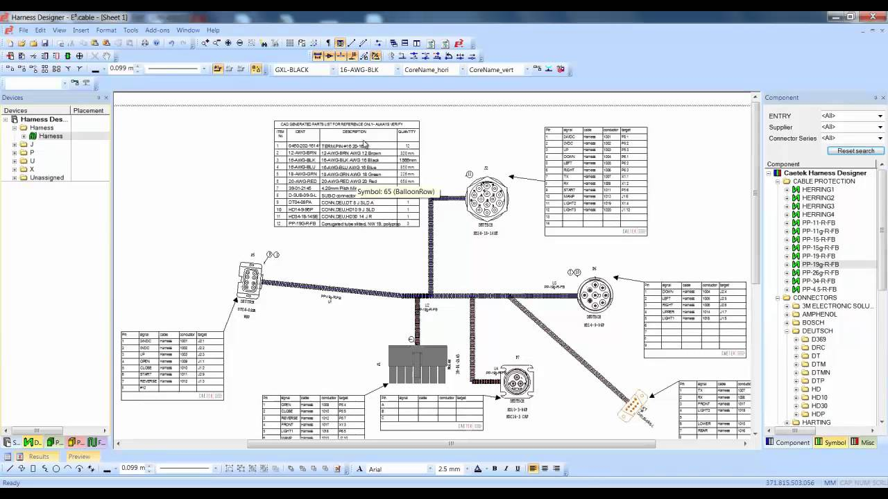 medium resolution of harness builder for e3 series bom and wire list