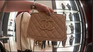 Randomly Meeting 4 Subbies ❤️ At Chanel! Mini Chanel Shopping Vlog