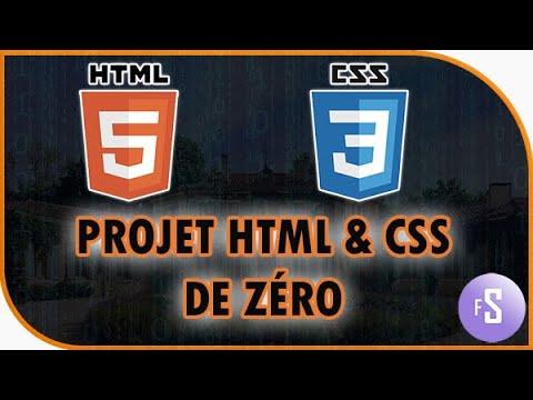 Projet HTML + CSS, Développer Son Premier Site Et Le Mettre En Ligne