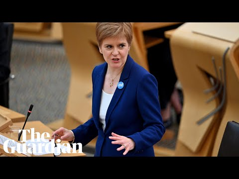 Coronavirus: Nicola Sturgeon announces 5-tier lockdown system for Scotland – watch live