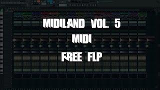 Скачать MaiiQ MIDILAND Vol 5 Progressive House EDM Melodies MIDI FLP