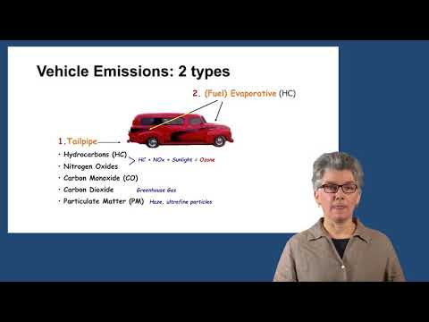 Vehicle Emission Basics - Mini Lecture by Professor Britt A. Holmén