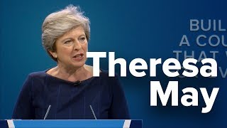 Theresa May: Speech to Conservative Party Conference 2017