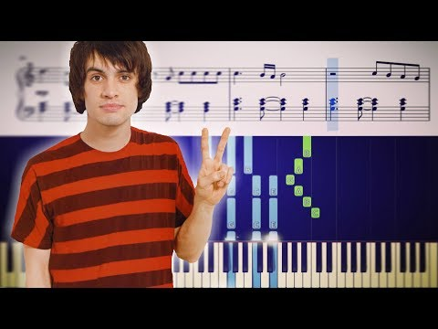 ONE OF THE DRUNKS (Panic! At The Disco) - Piano Tutorial + SHEETS