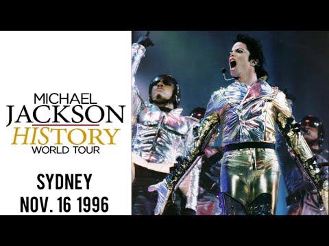 Michael Jackson - HIStory Tour Live In Sydney (16.11.1996)