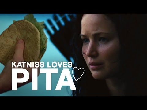 Katniss sure loves Pita (ORIGINAL)