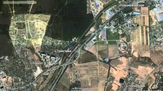 Окрестности станции Трехгорка за период 2003-2010 гг.(Наложение снимков Google., 2012-01-22T13:18:21.000Z)