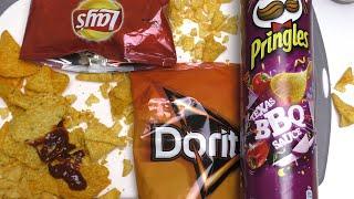 Doritos, Lay's and Pringles :)