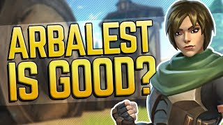ARBALEST IS ACTUALLY GOOD Realm Royale Hunter Solo