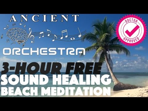 ROYALTY FREE Download 3 Hour Long Orchestra Sound Healing BEACH Ocean Waves Music
