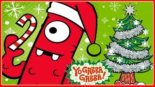 Yo Gabba Gabba - A Very Yo Gabba Gabba Christmas, Coloring Snowman Decorating Kids Games