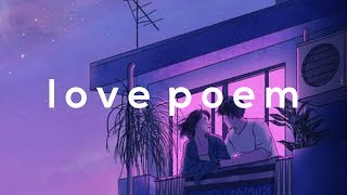 [FREE NO TAGS ! ] joji type beat- Love poem | Lo-fi/hip-hop/trap instrumental 2018 |