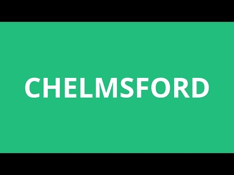 How To Pronounce Chelmsford - Pronunciation Academy