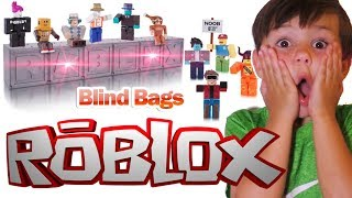 We Open Roblox Toys Blind Bags! | DavidsTV