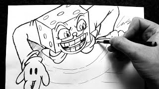 Como Desenhar King Dice Boss [Cuphead All Bets Are Off] - (How to Draw King Dice) - OLD C. #30