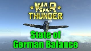War Thunder: The State of German Balance
