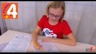 Как учится Соня/ 4  класс в Америке/ Обзор домашней работы/ Что и как изучают ШКОЛЫ США
