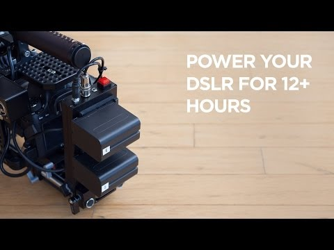 Accessory That Powers Your Canon DSLR For Over 8 Hours